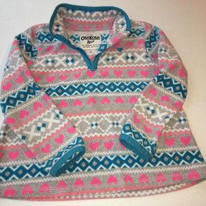 OshKosh B'gosh, Pullover Fleece,  with 1/4 zip